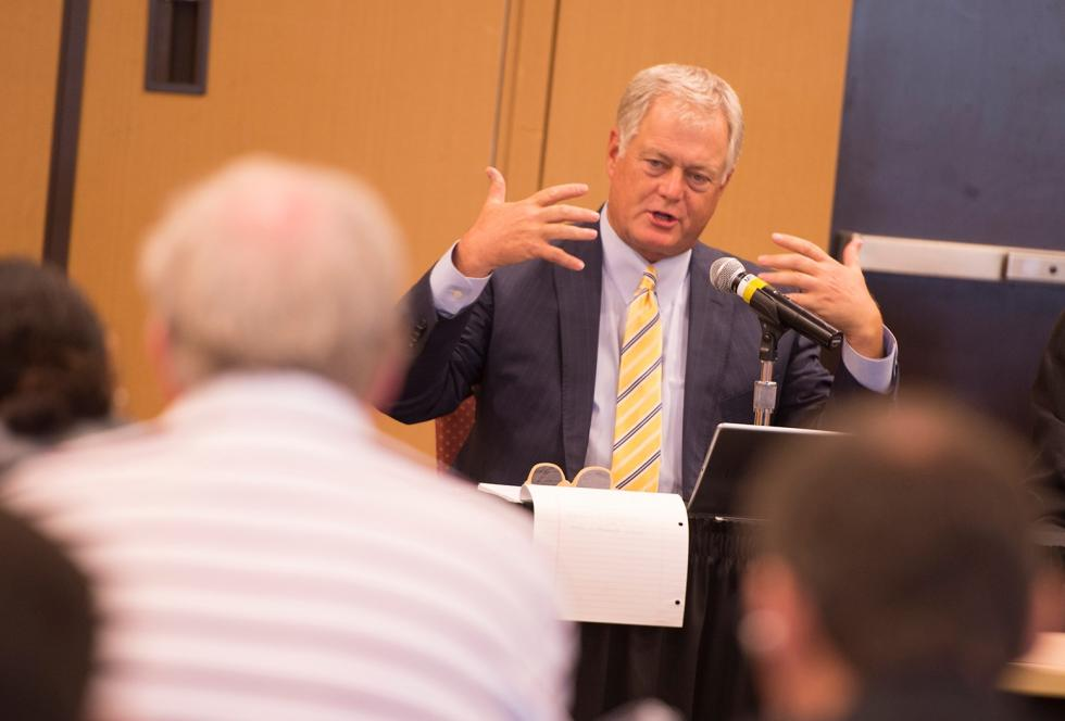 Letting students decide whether they need remedial courses is shortsighted, Valencia College President Sandy Shugart said. Valencia College/Don Burlinson