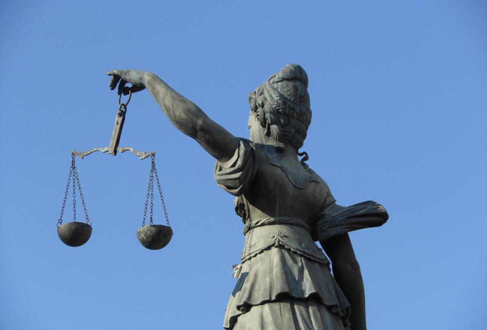The Scales of Justice. School funding formulas vary widely across the country when it comes to weighing individual students' needs against existing resources. (Flickr/Michael Coghlan)