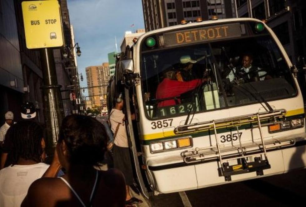 Image of In Detroit, School Choice Is 'Six Hours, Eight Buses'