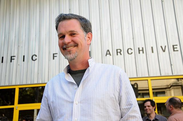 Reed Hastings, co-founder and CEO of Netflix, announced this week he is investing $100 million in education. His first gifts were to support black and Latino youth. (Flickr/JD Lasica)