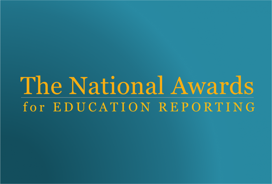 Image of 2014 Recipients of the National Awards for Education Reporting