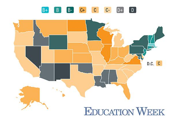 How Does Your State Fare On The Education Week Report Card