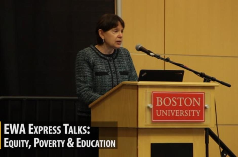 EWA Express Talks: Equity, Poverty, and Education