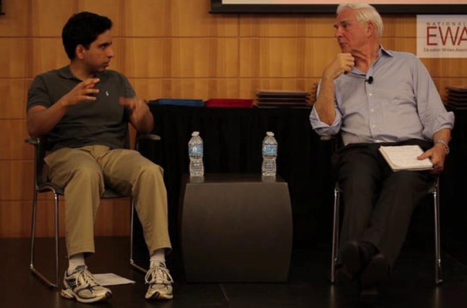 A Conversation with Sal Khan, Part 1