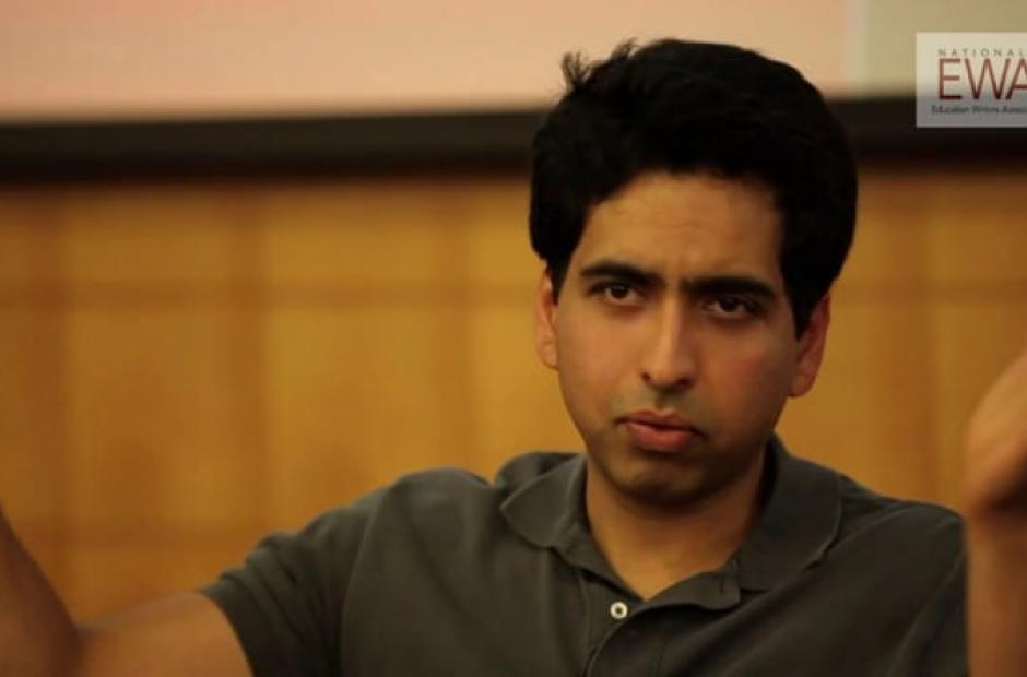 A Conversation with Sal Khan, Part 3