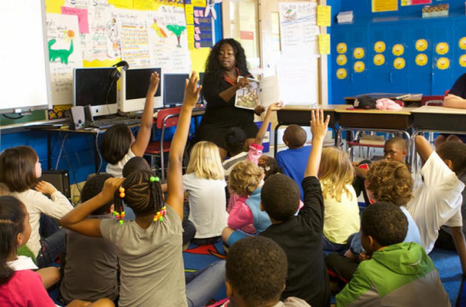 Image of Fewer Black Teachers Spotlights 'Diversity Gap'