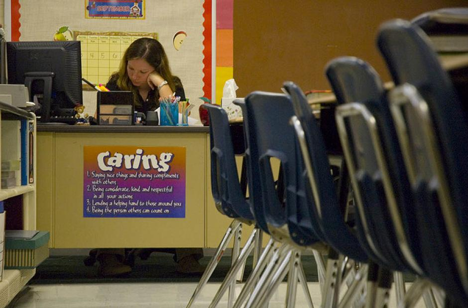 Image of School Survey Experiment Helps Narrow Achievement Gap