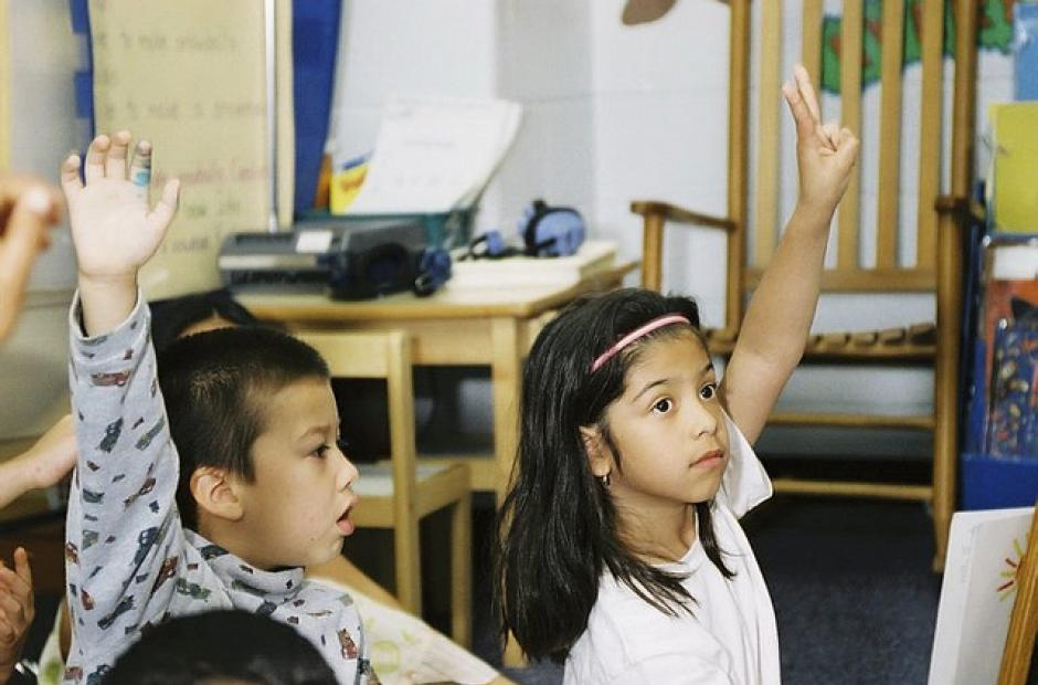 Image of Pew: K-12 Students 'More Racially Diverse than Ever'