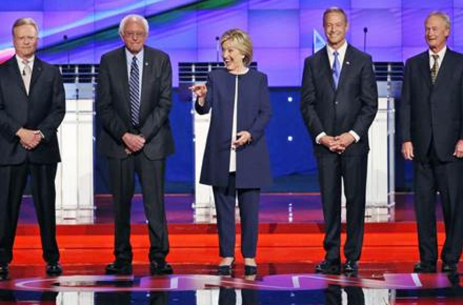 Image of Higher Ed. Gets Brief Spotlight During Democratic Debate
