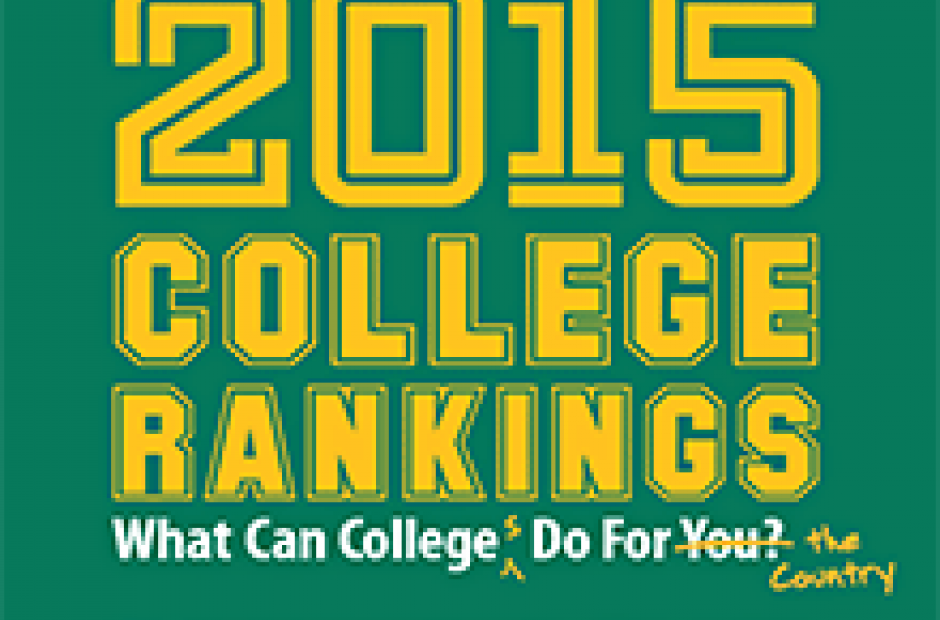 Image of Washington Monthly's 2015 College Rankings