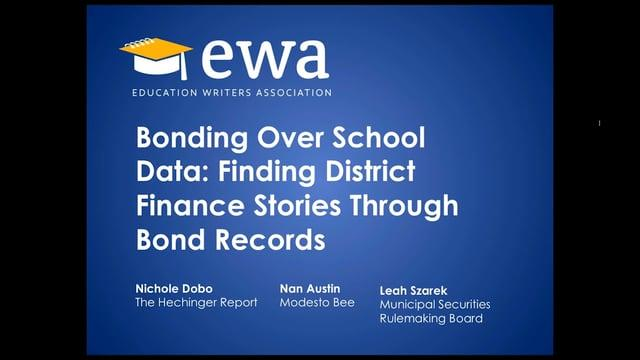 Webinar on School District Finance & Bonds