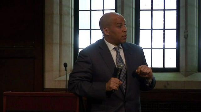 Buskin Lecture: Mayor Cory Booker