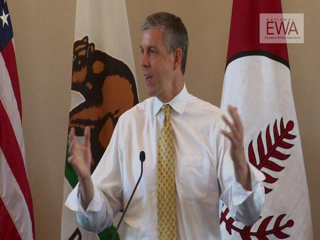 Arne Duncan at the 2013 EWA National Seminar: Part 3