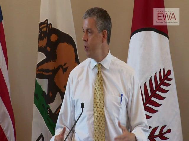 Arne Duncan at the 2013 EWA National Seminar: Part 2