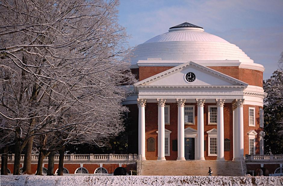 Image of University of Virginia, one of the higher education institutions under investigation by the U.S. Department of Education for possible Title IX violations.