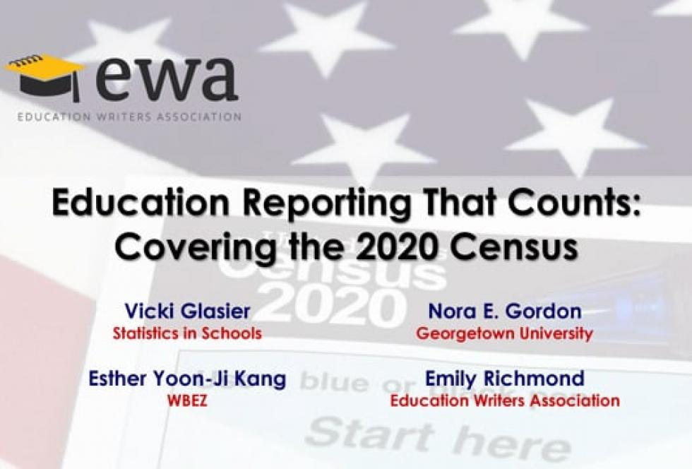 Education Reporting That Counts: Covering the 2020 Census