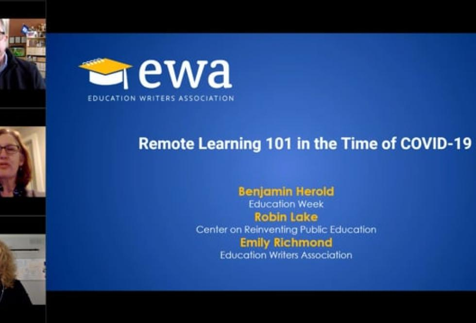 Remote Learning 101 in the Time of COVID-19