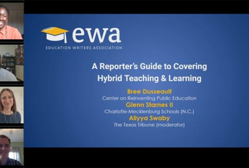A Reporter's Guide to Covering Hybrid Teaching & Learning