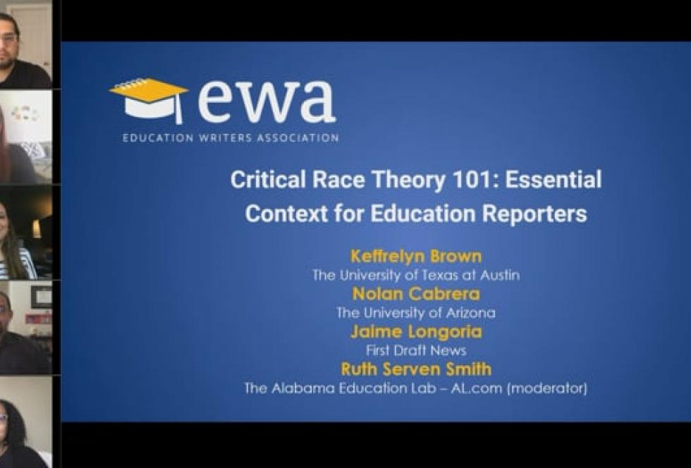 Critical Race Theory 101: Essential Context for Education Reporters