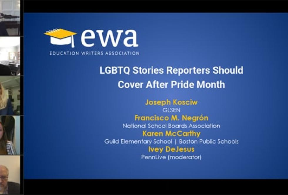 LGBTQ Stories Reporters Should Cover After Pride Month