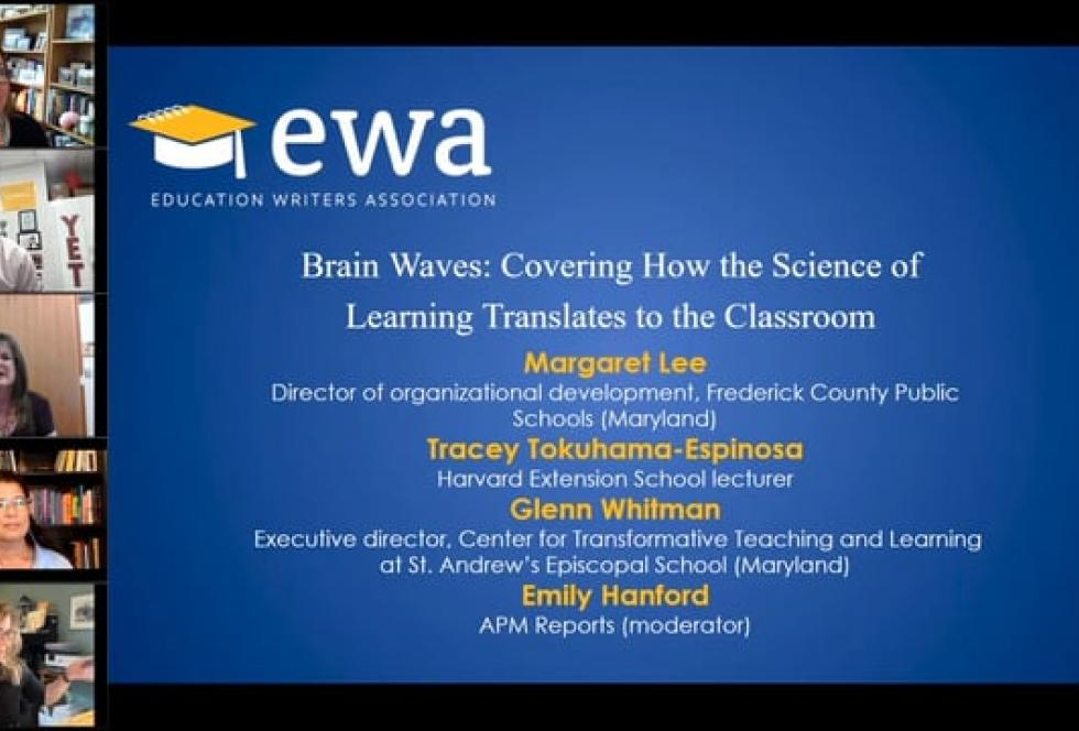 Brain Waves: Covering How the Science of Learning Translates to the Classroom
