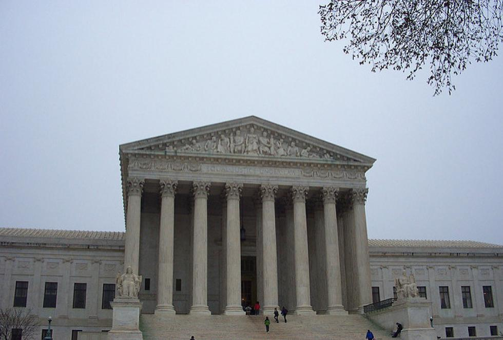 The U.S. Supreme Court deadlocked on a case that would have set new limits on how unions collect fees from potential members. (Flickr/Beatrice Murch via Creative Commons)