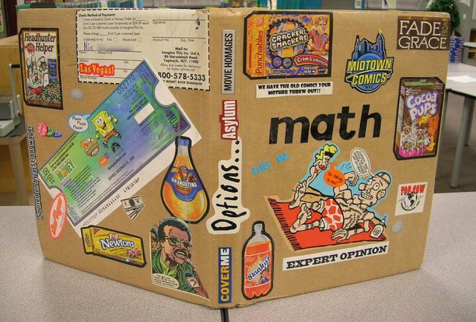 A student's math textbook. Flickr/Enokson (CC BY 2.0)