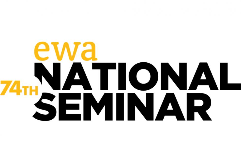 EWA 74th National Seminar text graphic