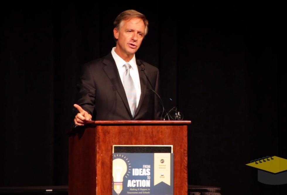 Gov. Bill Haslam speaking at EWA's 2014 National Seminar.