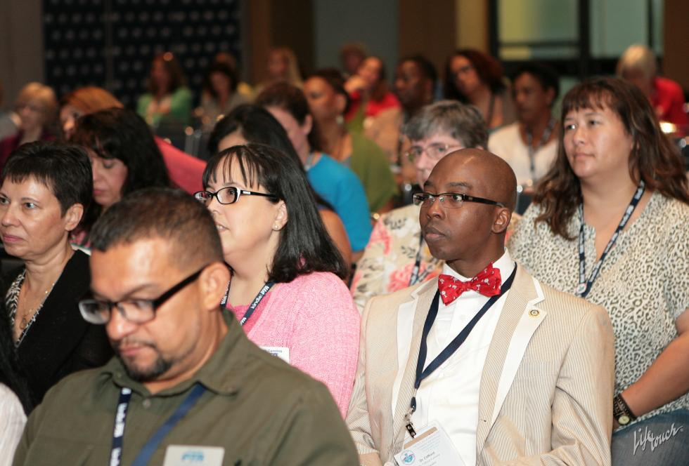 More than 100 people attended the recent Hispanic Family Engagement Symposium, hosted by the Hispanic Heritage Foundation and the National PTA at the PTA's annual convention in Charlotte, North Carolina.