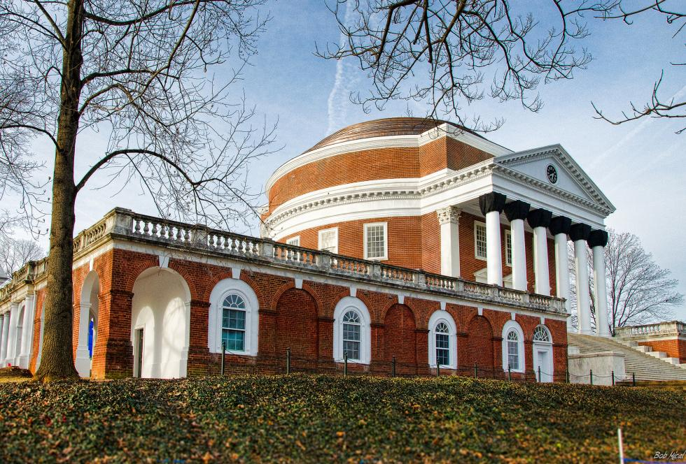 The rotunda at the University of Virginia in Charlottesville. (Flickr/Bob Mical/Creative Commons)