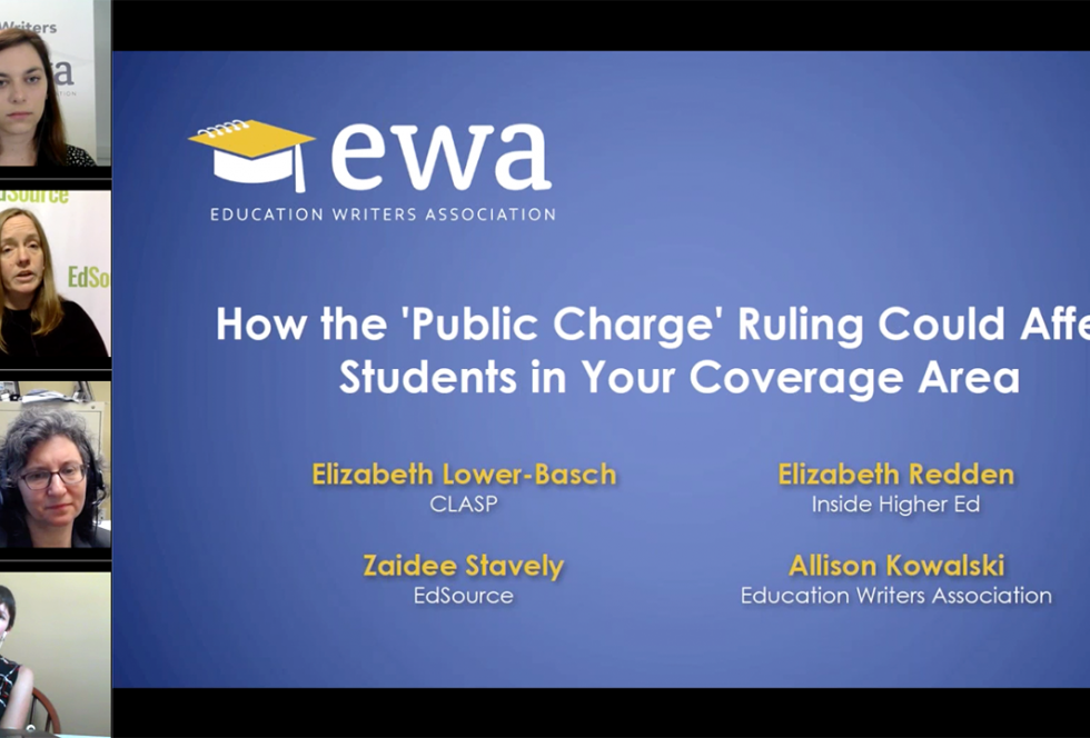 How the 'Public Charge' Ruling Could Affect Students in Your Coverage Area