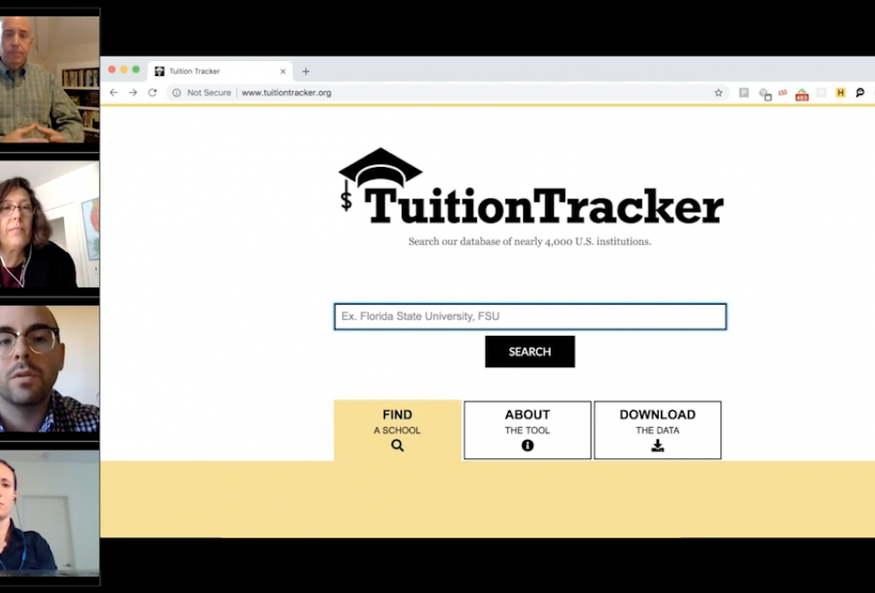 How Much Does College Really Cost? New 'Tuition Tracker' Tool Offers Answers.