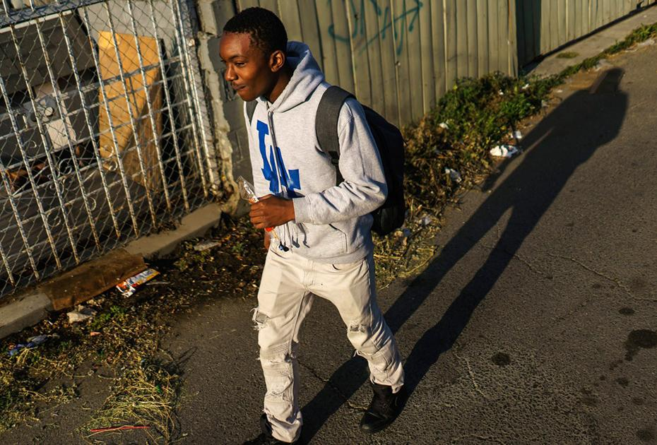 Surrounded': Risky Routes for Los Angeles Students