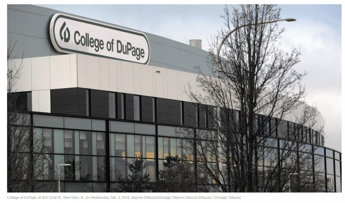College of DuPage - Education Writers Association