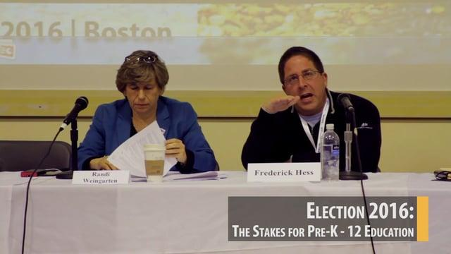 Election 2016: The Stakes for Pre-K-12 Education