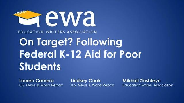 On Target? Following Federal K-12 Aid for Poor Students