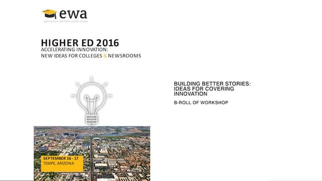 Building Better Stories: Ideas for Covering Innovation