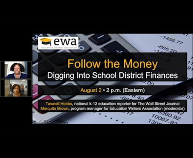 Tapping Data on School Finance