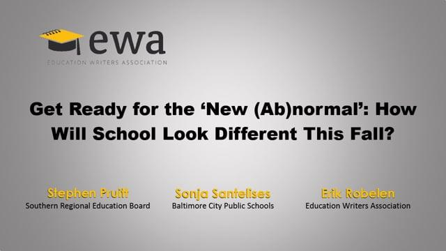 Get Ready for the 'New (Ab)normal': How Will School Look Different This Fall?