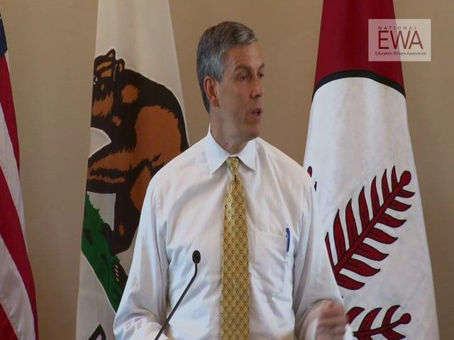 Arne Duncan at the 2013 EWA National Seminar: Part 1