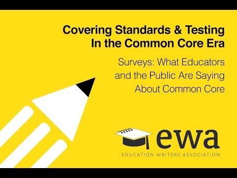 Surveys: What Educators and the Public Are Saying About Common Core