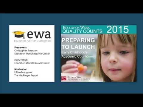 EWA Hosts Sneak Preview of National Report on Early Childhood Indicators