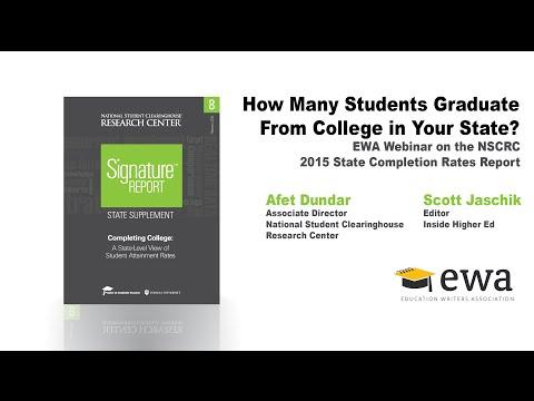How Many Students Graduate From College in Your State?
