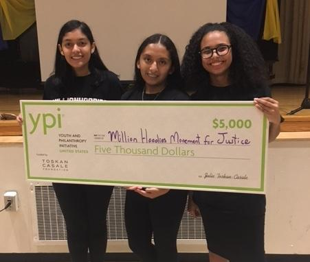 Ninth Grade Students At New York Cityu0027s Washington Heights Expeditionary Learning  School Celebrate Their Winning Presentation For The Youth And Philanthropy  ...