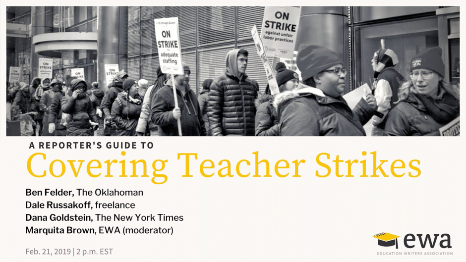 A Reporter's Guide to Covering Teacher Strikes