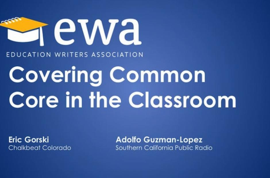 Covering Common Core in the Classroom