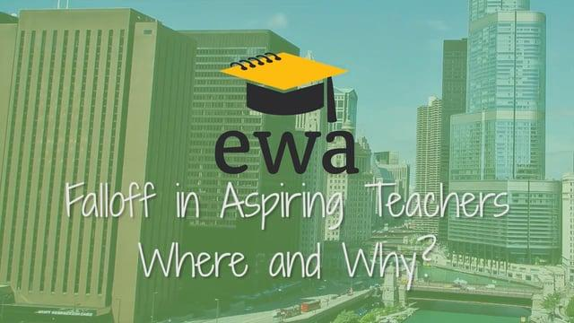 Falloff in Aspiring Teachers: Where and Why?