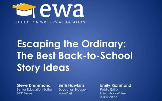 Escaping the Ordinary: The Best Back-to-School Story Ideas