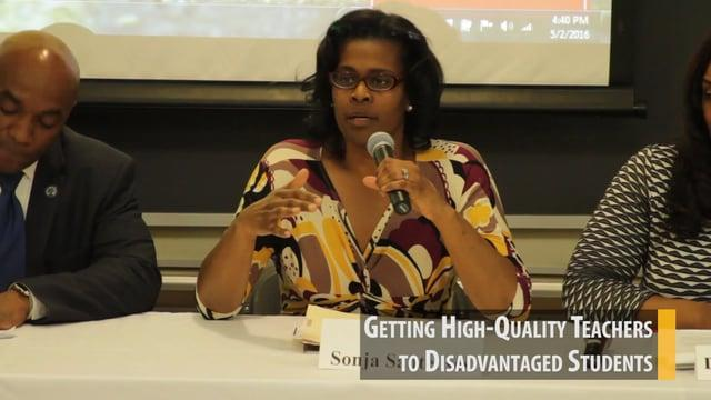Getting High-Quality Teachers to Disadvantaged Students